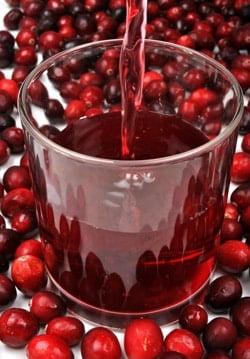 น้ำแครนเบอร์รี่