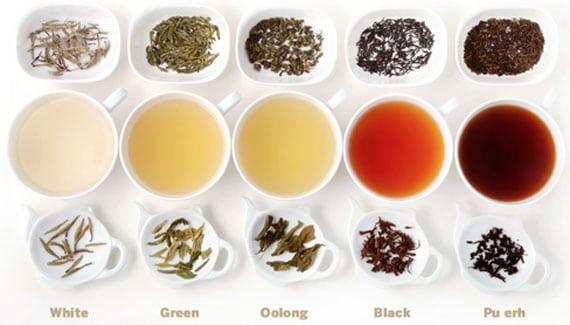 ประเภทของชา