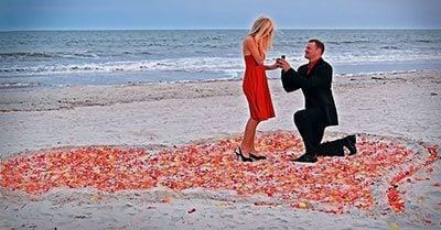 ขอแต่งงานวันวาเลนไทน์