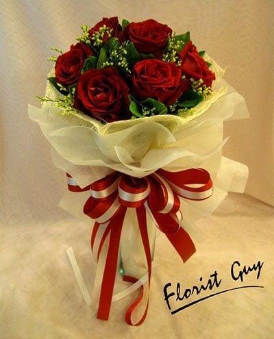 ดอกกุหลาบวาเลนไทน์