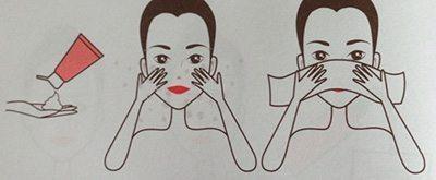 ล้างหน้าอย่างถูกวิธี
