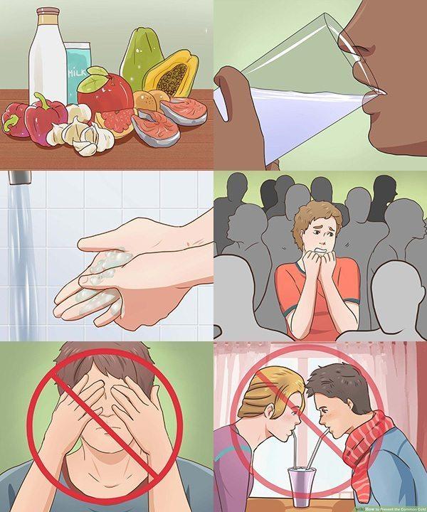 วิธีรักษาไข้หวัด