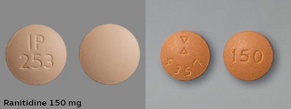 รูปแบบยารานิทิดีน