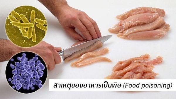 สาเหตุอาหารเป็นพิษ
