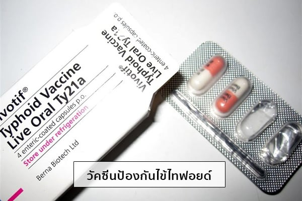 วัคซีนไทฟอยด์