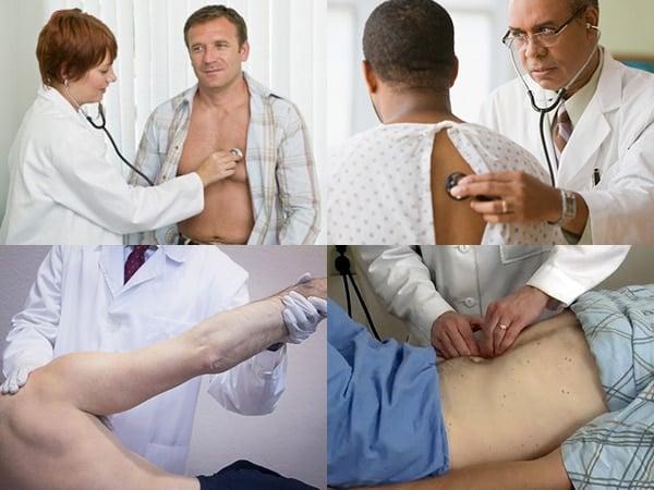 การตรวจร่างกายโดยอายุรแพทย์